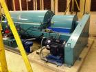 Used- Sharples XM-706 Super-D-Canter Centrifuge, 316SS. Max bowl speed 2600 RPM, 2780 G's, 360 degree cake dis- charge. 10
