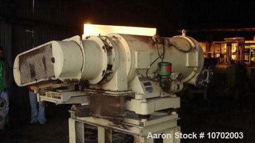 Used-Westfalia CA-365-010 Decanter Centrifuge. 316 stainless steel construction (product contact areas), max bowl speed 4000...