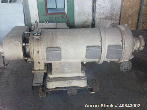 Used- Stainless Steel Westfalia Solid Bowl Decanter Centrifuge