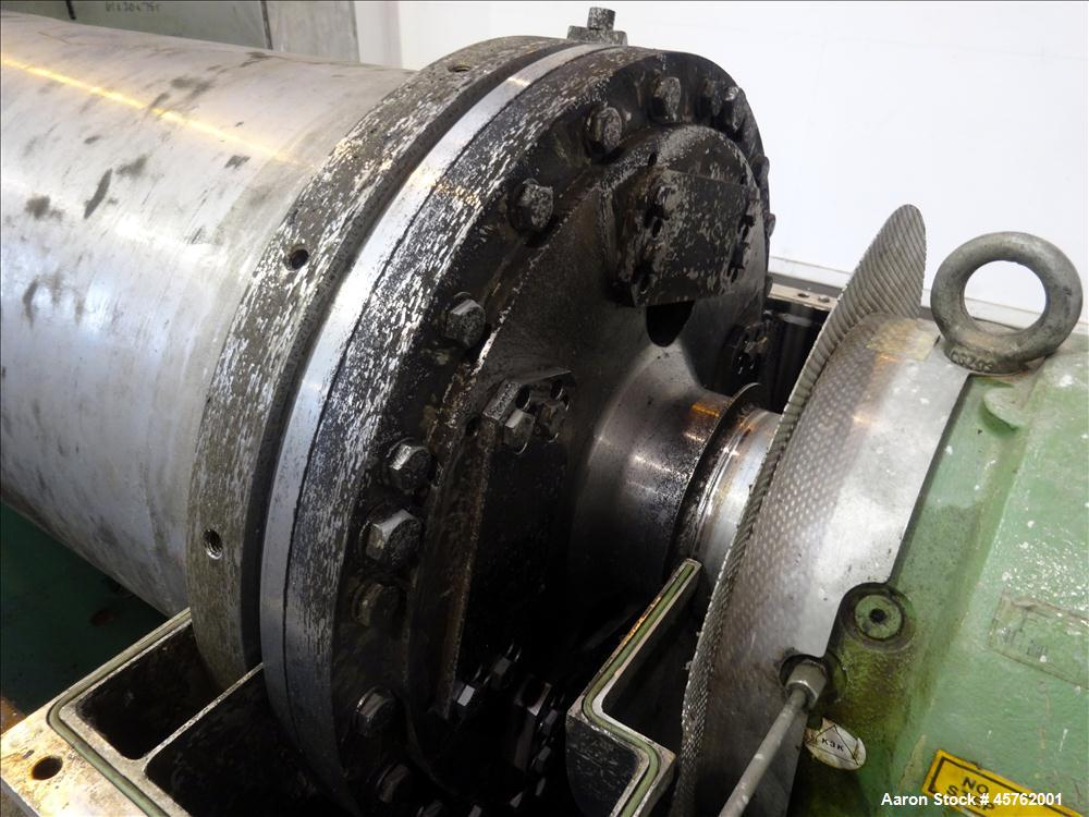 Westfalia CA-450-00-02 Solid Bowl Decanter Centrifuge