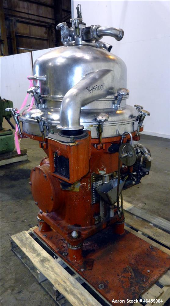 Used- De Laval AFPX-213 Desludger Disc Centrifuge