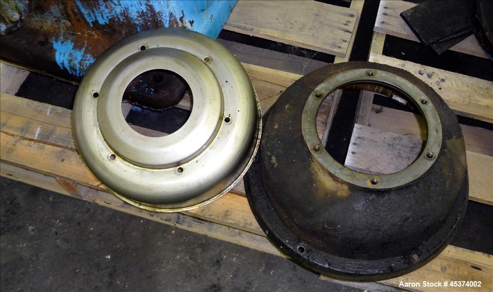 Used- Stainless Steel Alfa Laval Desludger Disc Centrifuge, Type AFPX 213-XGP-74