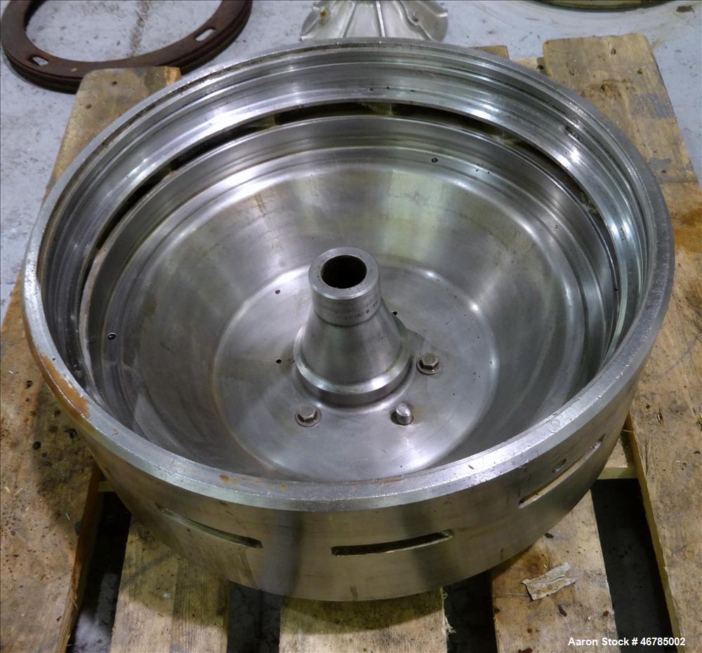 Used-Alfa Laval AFPX-409-BGP-14 Desludger Disc Centrifuge
