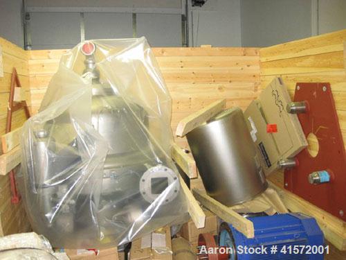 Unused-Alfa Laval AFPX-617XGV-14CG Centrifuge with 60 hp, 460/3/60 motor, vibration sensor, speed sensor, safety switch, ill...