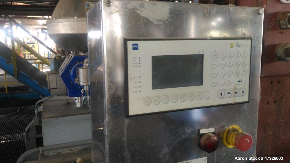 """Used- Alfa Laval BD-120P EX2 """"Biodiesel"""" Desludger Disc Centrifuge"""