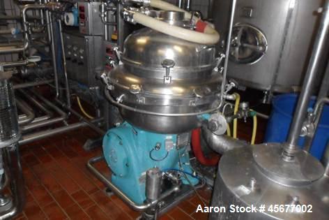 Used- Alfa Laval BRPX-213-H-34 Desludger Disc Centrifuge