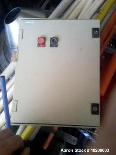 Used- Stainless Steel Alfa Laval Desludger Disc Centrifuge, BRPX-213-34H-22