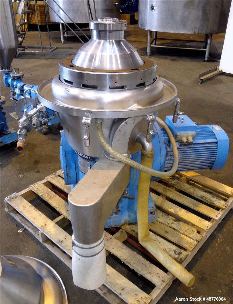 Used- Alfa Laval BRPX-309-34S desludger disc centrifuge