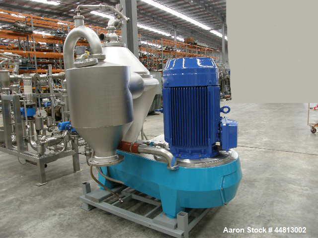 Used- Alfa Laval BRPX-717SFV-310SL Desludger Disc Centrifuge