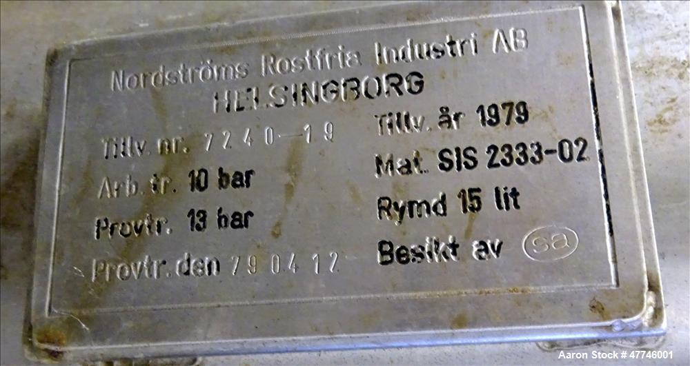 Used- Alfa Laval BRPX-417 SFV-31 Desludger Disc Centrifuge