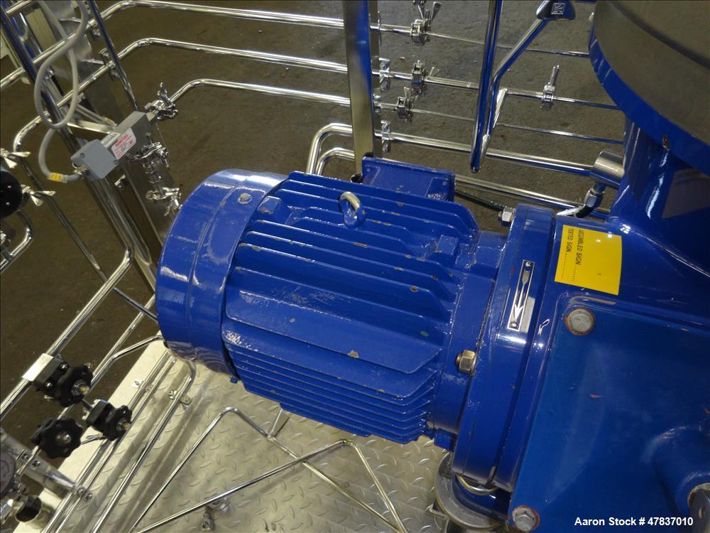 Used- Alfa Laval BTPX-205-SGD-34CDP-60 Desludger Disc Centrifuge