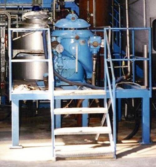 Used- Stainless Steel Alfa Laval Desludger Disc Centrifuge, FMAPX-309-BGT-74