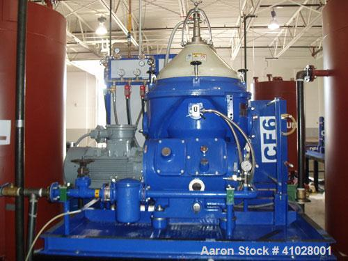 Used- Stainless Steel/Aluminum Alfa Laval Desludger Disc Centrifuge System, MAPX-210