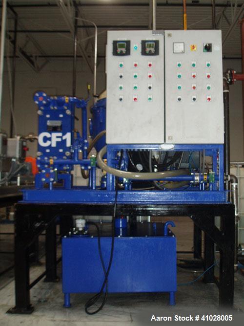 Used- Stainless Steel / Sluminum Alfa Laval Desludger Disc Centrifuge System,  MAPX-210