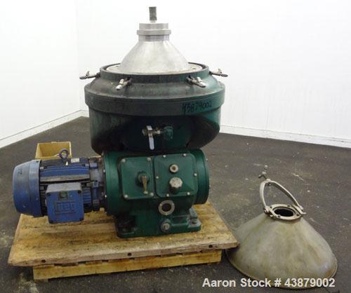 Used- Alfa-Laval Desludger Disc Centrifuge MAPX-313-TGT-24-60