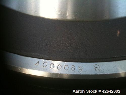 Used-Alfa Laval MOPX-213-TGT-24 Desludger Disc Centrifuge. Stainless steel bowl assembly, separator design (liquid/liquid/so...