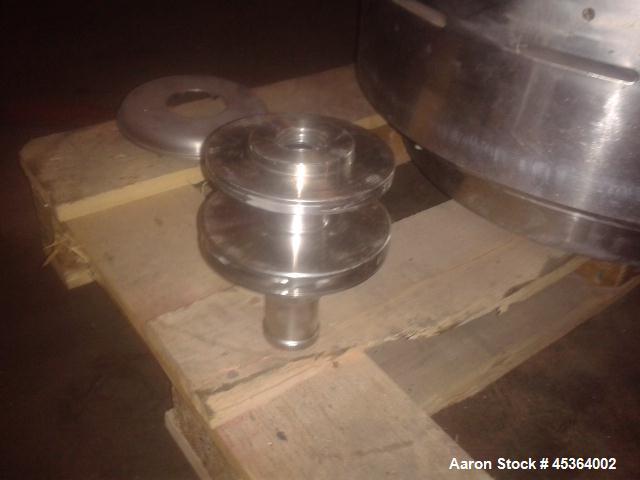 Used- Stainless Steel Alfa Laval Desludger Disc Centrifuge, MRPX-214