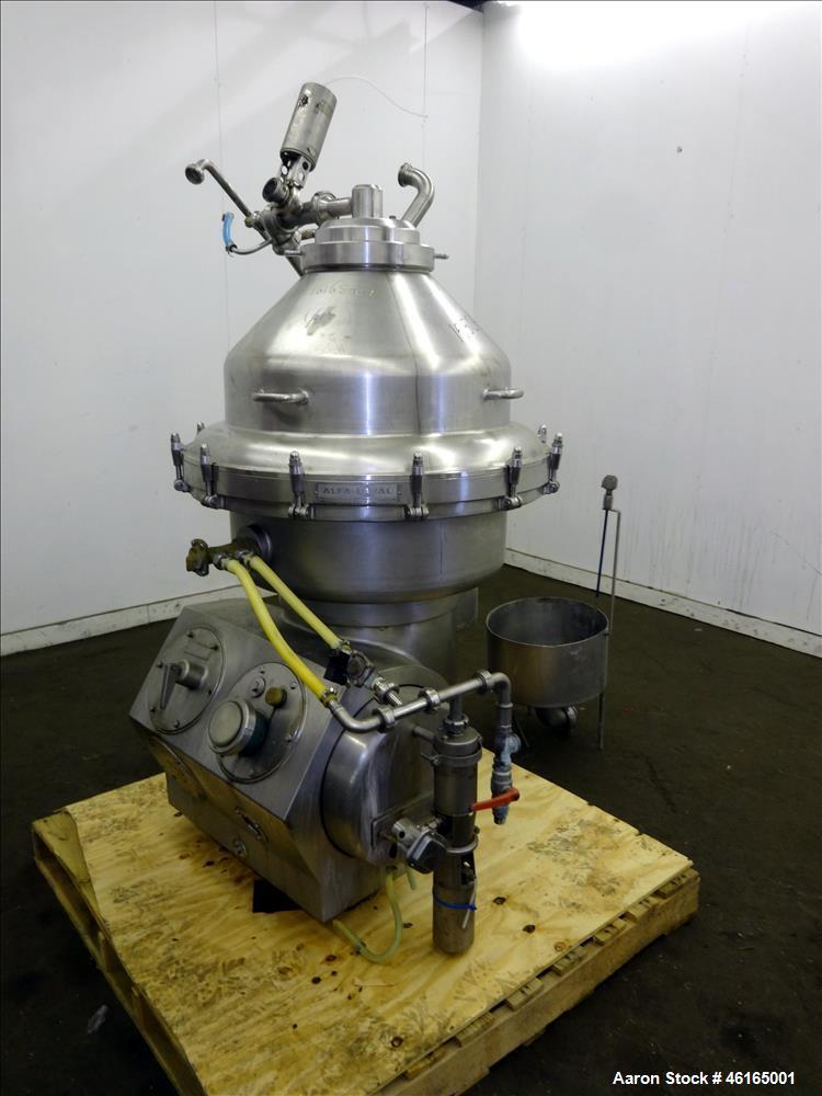 Used-Alfa-Laval MRPX-314-TGV-74-C Desludger Disc Centrifuge