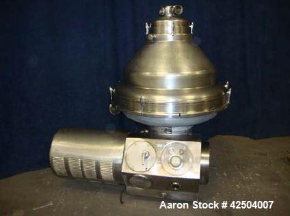Used-Alfa Laval MRPX-418 Desludger Disc Centrifuge