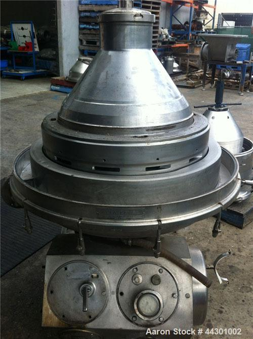 Used-Alfa Laval MRPX-418-TGV-74C Desludger Disc Centrifuge