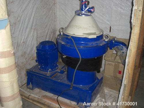 Used-Alfa Laval PX-30 Refining Desludger Disc Centrifuge. Stainless steel construction (product contact areas), separator de...