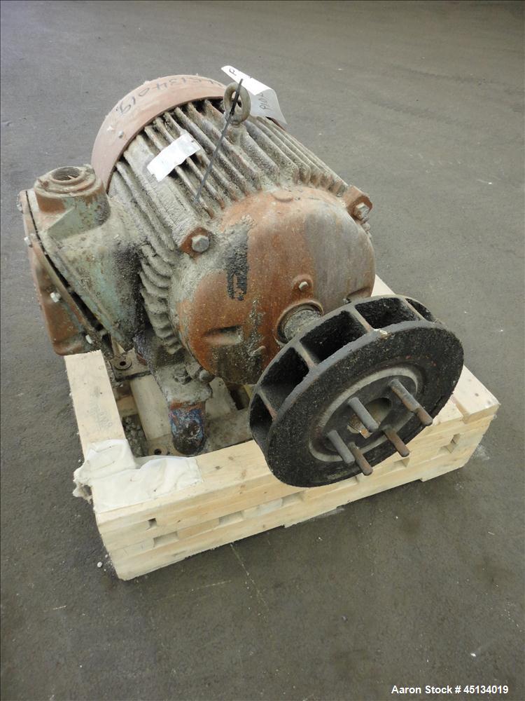 Used- Alfa Laval SRPX-317HG V-15CH-60 Desludger Disc Centrifuge Frame Assembly