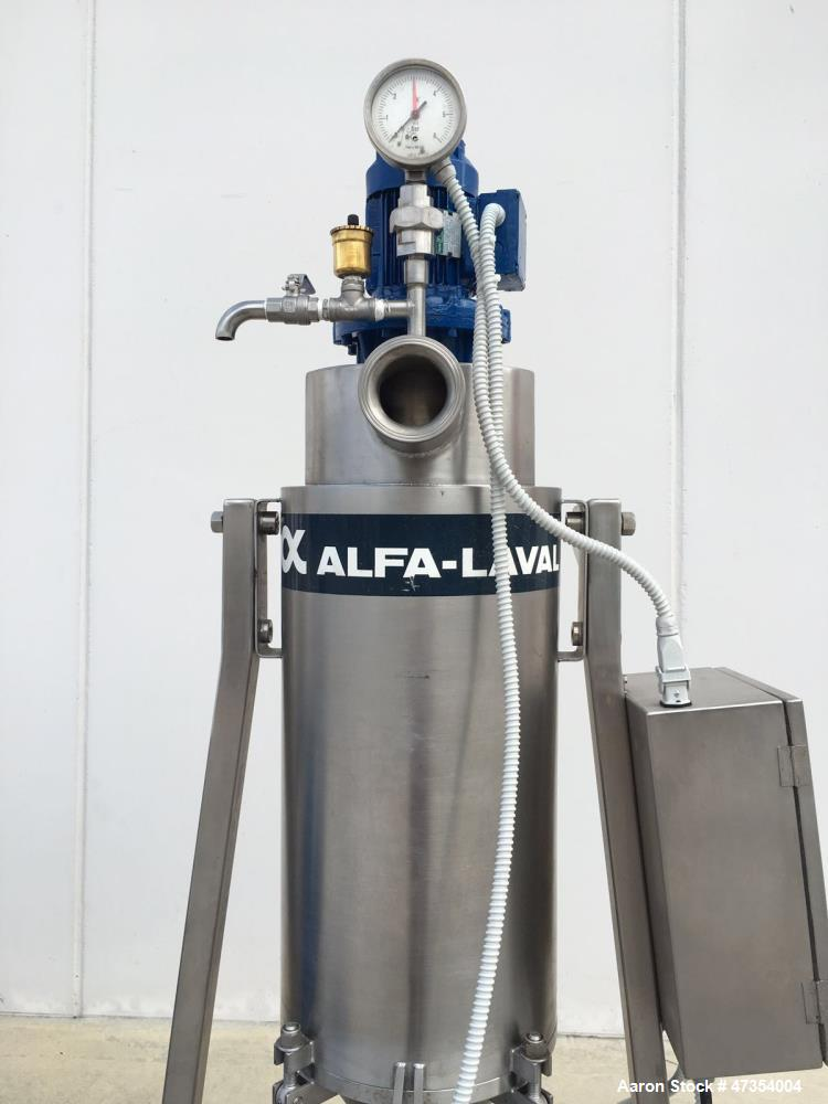 Used- Alfa-Laval VNPX-510-SGD-34-50 Desludger Disc Centrifuge