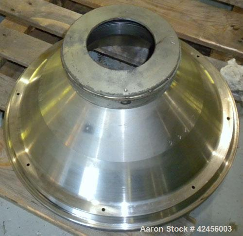 Used- Delaval MAPX-309-BGT-29-60/4094-14 Guardian Purifier Disc Centrifuge, 316 Stainless Steel. Maximum bowl speed 1700-180...
