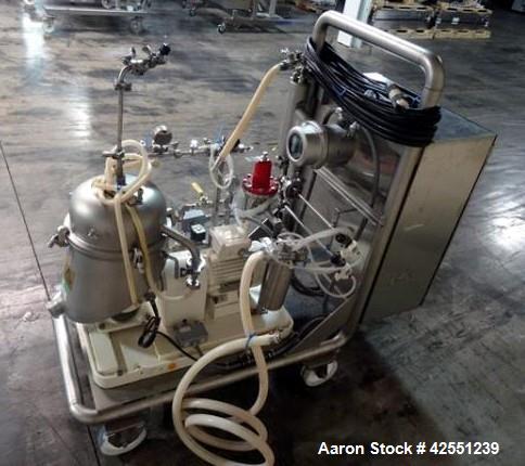 Used-GEA Westfaila SA-1-02-175 Desludger Disc Centrifuge
