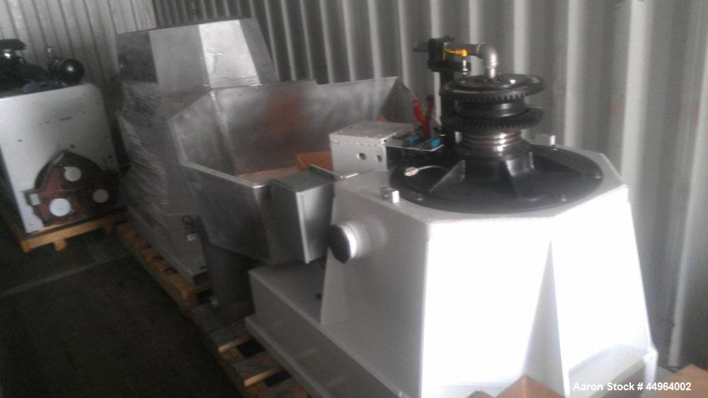 Used- Industrial Centrifuge Solutions Centrifuge