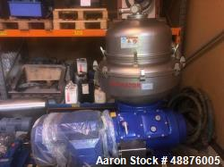 Used- Alfa Laval AFPX 513 XGD 7400 Desludger Disc Centrifuge. 316 Stainless steel construction (product contact areas), sepa...