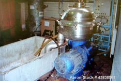 Used- Alfa Laval BRPX-213-HGV-35-22 Desludging Disc Centrifuge