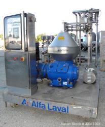 Used- Alfa-Laval CHPX 510-SGD-34CGT-50 Desludger Disc Centrifuge