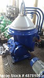 """Used- Alfa-Laval FOPX-609-TFD-24 """"Oil Purifier"""" Desludger Disc Centrifuge"""