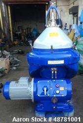 """Used- Alfa-Laval FOPX 613TFD-24-60 """"Oil Purifier"""" Desludger Disc Centrifuge."""