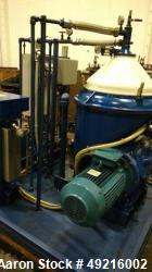 Used- Alfa Laval MOPX-210 TGT-24-60 Oil Purifier Centrifuge.