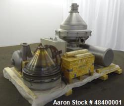 Used- Alfa-Laval MRPX-418-HGV-74 Desludger Disc Centrifuge