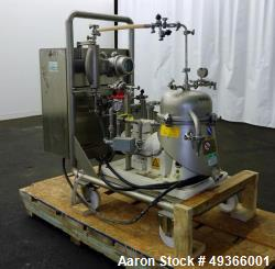Used- Westfalia SA-1-02-175 Desludger Disc Centrifuge.