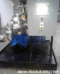 Westfalia Separator, Model SAMR 5036. Self cleaning classifier, self cleaning bowl. Gas tight desig...