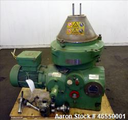 Used- Westfalia WSC-25-01-506 Disc Centrifuge