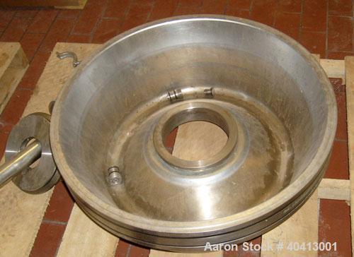 Used-Sudmo 85,000 pph separator/clarifier centrifuge, model MKRS-330U-KG.