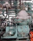 Used- Diesel Engine Fuel Treatment System consisting of: (2) Alfa Laval model MAPX-205 TGT-24-60HZ disc bowl centrifuges, bo...