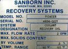 Used- Sanborn Recovery System