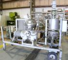 Used- Westfalia SA-14-06-076 Desludger Disc Centrifuge, 316 stainless steel construction on product contact areas. Maximum b...