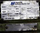 Used- Westfalia SB-7-01-576 Desludger Disc Centrifuge, 316 Stainless steel (product contact areas), maximum bowl speed 9160 ...