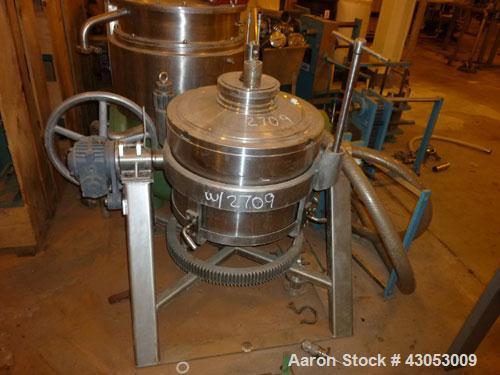 Used-Westfalia Centrifuge / Clarifier, Model BKA4586076. Hydro hermetic, stainless steel.Year 1988.