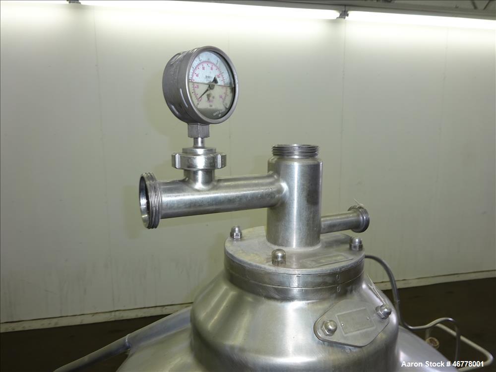"""Used- GEA Westfalia CNB-130-01-076 """"Bactofuge"""" Desludger Disc Centrifuge"""