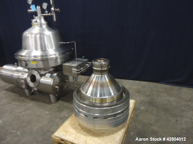 Used-Westfalia Bactofuge Desludger Disc Centrifuge, CNB-215-01-076