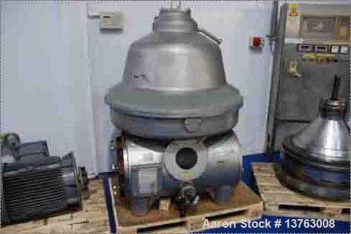 """Used- Stainless Steel GEA Westfalia """"Bactofuge"""" Desludger Disc Centrifuge, CNE-300-01-076"""