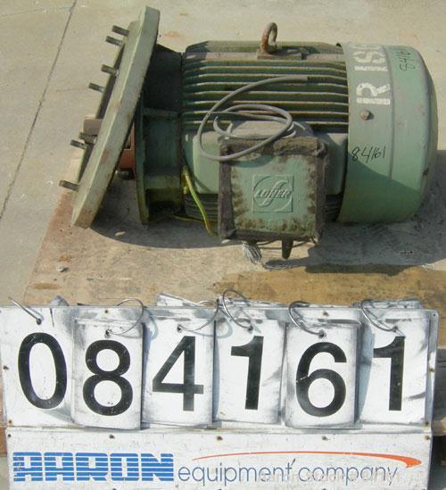 Used- Westfalia CSA-160-47-076 Ultra-Polishing Desludger Centrifuge Drive Motor. 37 kw (49 hp), 3/50/420 volt, 1470 rpm.